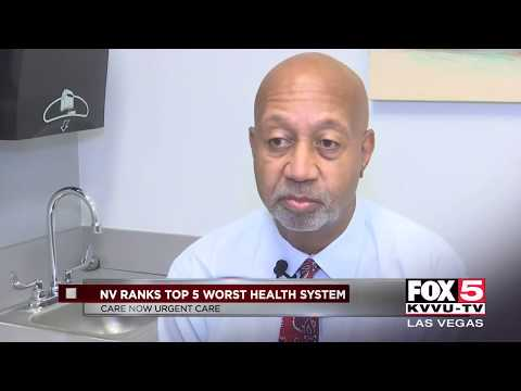 New Study Ranks Nevada In Bottom Five For Health Care