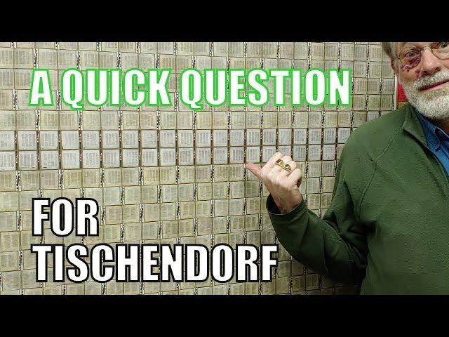 A Quick Question for Tischendorf