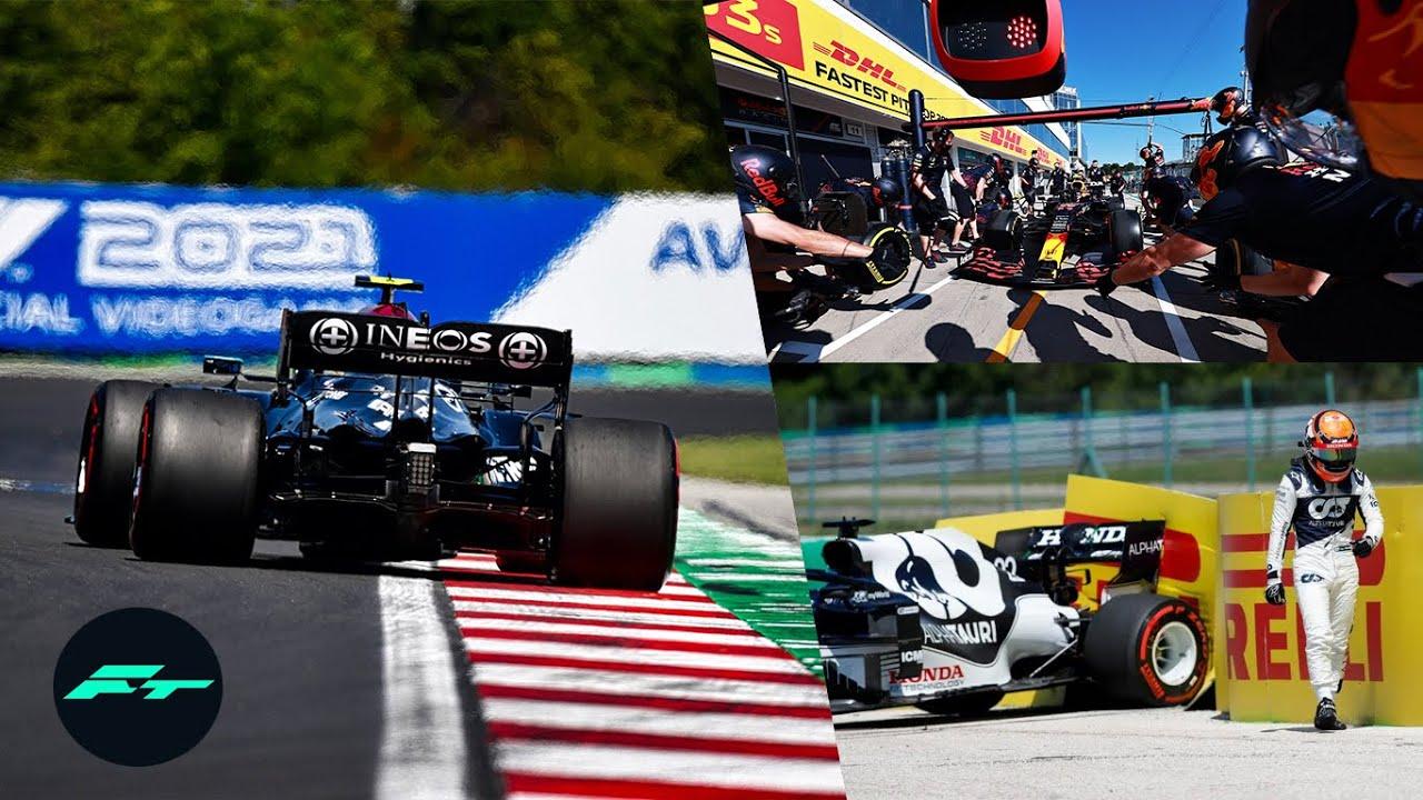 RED BULL en PROBLEMAS, BOTTAS MANDA, ALPINE SORPRENDE – RESUMEN LIBRES GP HUNGRIA F1 2021