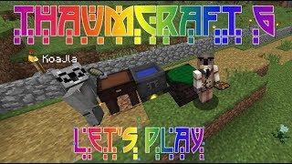let's Play  Знакомство с Thaumcraft 6  E04  Создание теорий и вис-кристаллов
