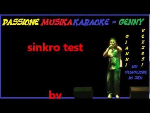 GIANNI VEZZOSI Nu guaglione do zenn karaoke