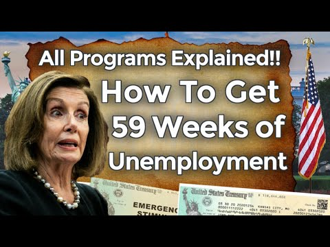 UNEMPLOYMENT BENEFITS EXTENSION UPDATE LWA PUA SSI PEUC FED-ED 59 WEEKS STIMULUS CHECK EXPLAINED