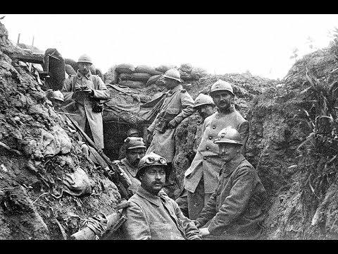 La vita nelle trincee. Prima Guerra mondiale.