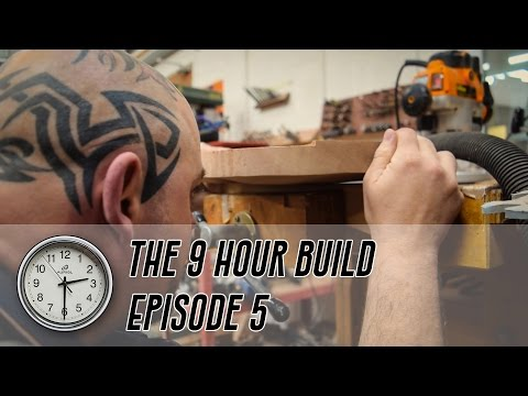 The 9 Hour Build - Ep.5: Drilling and Routing the Control Cavities