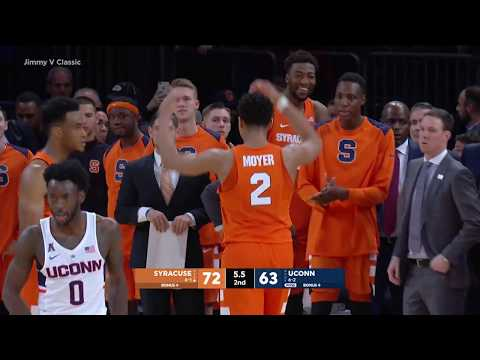 Highlights | Syracuse vs. UConn