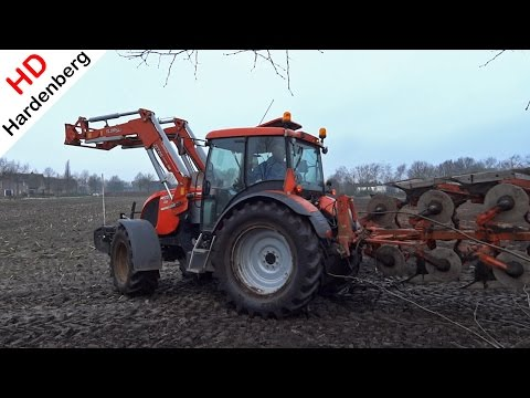 Zetor Proxima Power | Mais land ploegen | Maize land plowing | Uddel | The Netherlands.