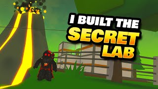 I Built the Secret Lab in Tropical Resort Tycoon