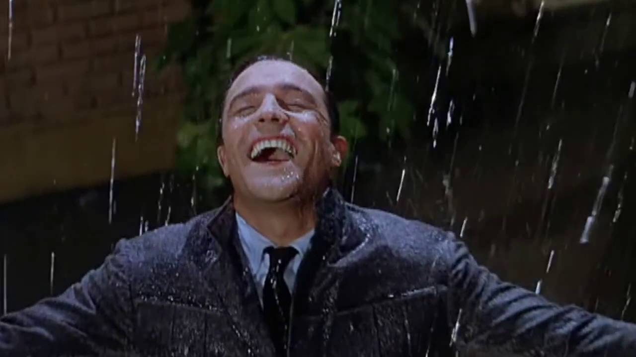 Image result for gene kelly singing in the rain
