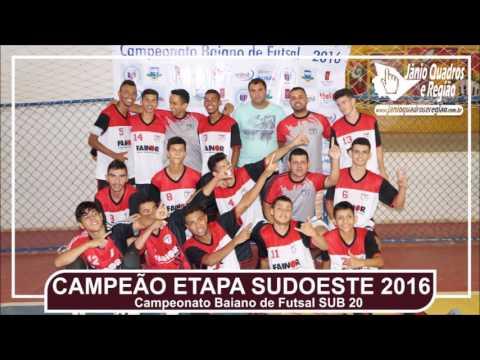 JÂNIO QUADROS: CTAF conquista zonal sudoeste do Campeonato Baiano de Futsal SUB-20