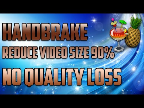 Handbrake 2016 | Best Settings | 1080p 60FPS | No Quality Loss | No LAG | 90% Reduced Size
