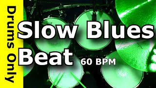 Slow Blues Drum Beat 60 BPM - JimDooley.net