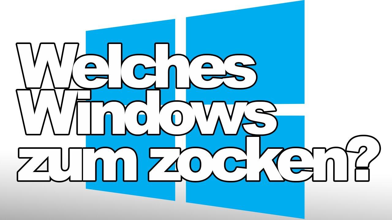 windows 10 zum zocken