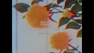 Tove Lo feat. Kylie Minogue - Really don't like u (visual lyric video)
