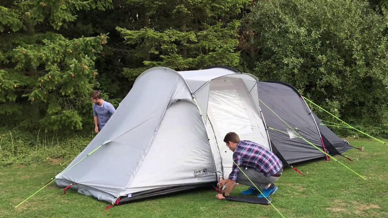 Jack Wolfskin Great Divide Tent Timelapse CampingWorld.co.uk