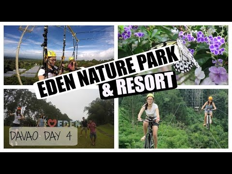 [VLOG] EDEN NATURE PARK & RESORT ADVENTURES!! | Davao Day 4 ❤️
