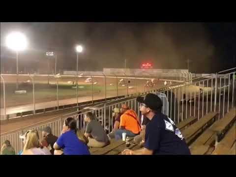 Brett Brunkenhoefer 410 Sprint Feature Sharon Speedway 8/4/18