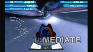 Winter Sports 2: The Next Challenge (PS2) Luge