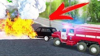 Горить Заправка - Гасіння Пожежі - SpinTires
