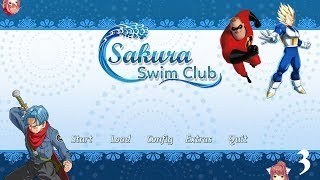 Sakura Swim Club Ft  Everyone Part 3 - Mr. Incredible's Literature Club