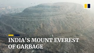 Indias Mount Everest of garbage