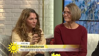 Ann Petrén spelar en väldigt självupptagen mamma i ny pjäs - Nyhetsmorgon (TV4)