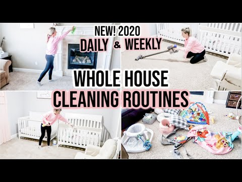 EXTREME WHOLE HOUSE CLEAN W/ ME 2020 | DAILY & WEEKLY CLEANING ROUTINE & SCHEDULE | JAMIE'S JOURNEY