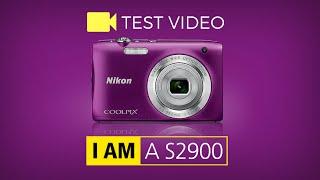 Nikon COOLPIX S2900 Test video