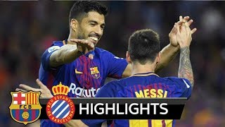 barcalona vs barcalona 5 0 All Goals HD
