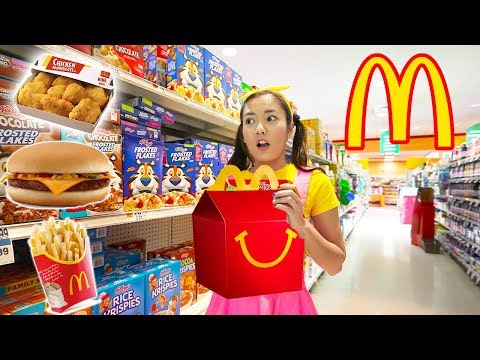 Driving Through McDonalds With Ellie | Toy Game Show