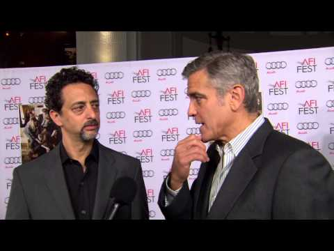 August: Osage County: George Clooney & Grant Heslov AFI Premiere