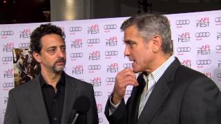 August: Osage County: George Clooney & Grant Heslov AFI Premiere Interview