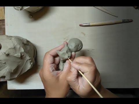 How To Make Ceramic Cat [Tutorial]