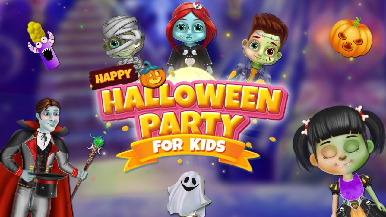 happy halloween party for kids - halloween kids party games