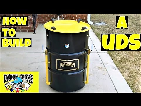 how to build a verticle drum smoker uds 55 gallon drum. Black Bedroom Furniture Sets. Home Design Ideas