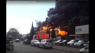 Großbrand Böblingen Hulb Firma Reisser 11.06.2014