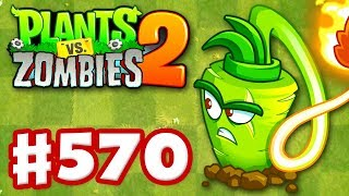 Plants vs. Zombies 2 - Gameplay Walkthrough Part 570 - Wasabi Whip Premium Seeds Epic Quest!