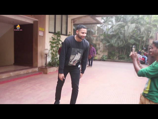 Siddhant Chaturvedi spotted at kwan office Andheri