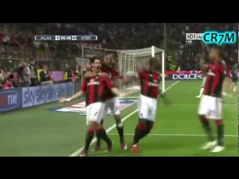 Pato, Robinho, Ibrahimovic & Boateng | ♥Fantastic 4 of AC Milan♥ | 2012 HD
