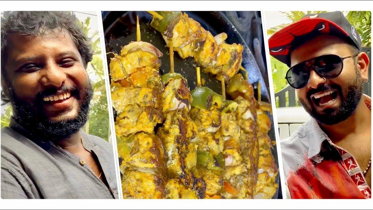 ഒരു ആക്ഷൻ പാസ്ത വിരുന്ന് 🍝🍢/Pasta Spaghetti served with Bean & Chicken/Kerala Food Vlogger/E-118.