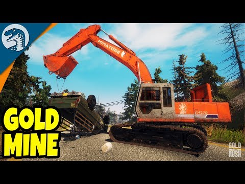 $1,000,000,000,000 GOLD MINE OPERATION | Gold Rush: The Game Alpha Demo Gameplay