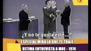 TPA   Ultima entrevista a Moe de Los Tres Chiflados
