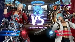 ULTRON TECH WHILE IN THE BOX! Online MVCI (Me) Dante/Ultron VS Ultron/Dante