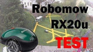 Robomow RX12 RX20 Test: 40 m² Rasenfläche in 90 Minuten (Rasenroboter)