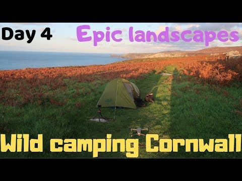 Epic Cornwall Wild camping Penzance YHA Madron Mên-an-Tol Right of way blocked chainsaw time. SWCP from YouTube · Duration:  18 minutes 16 seconds