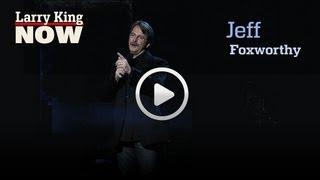"Jeff Foxworthy On Obama & Romney   ""Larry King Now""   Ora TV"