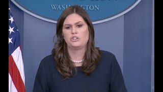 Sarah Huckabee Sanders Jan 11, 2017 White House Press Briefing - Full Event