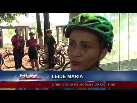 Passeio ciclístico em comemoração ao dia internacional da mulher