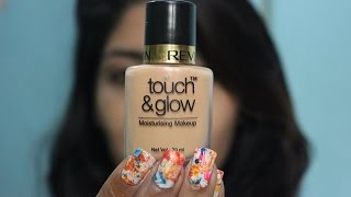 Revlon touch and glow moisturizing makeup foundation- Review, swatches and price in India