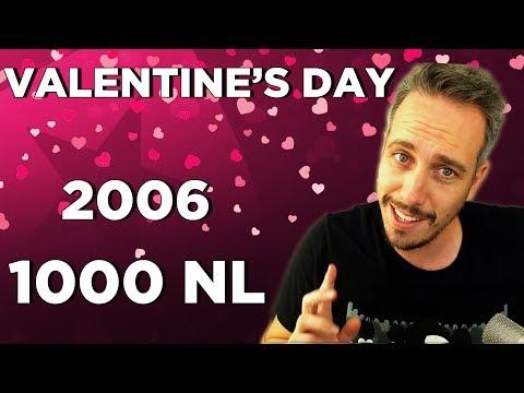 Valentine's day $1000NL breaks my heart!