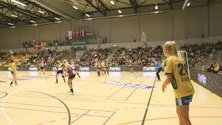 NFH mod HIH EHF Cup 10. november 2019 - Første halvleg af kampen